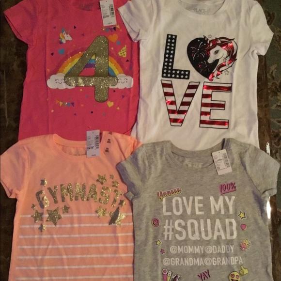 Girls shirt size 4
